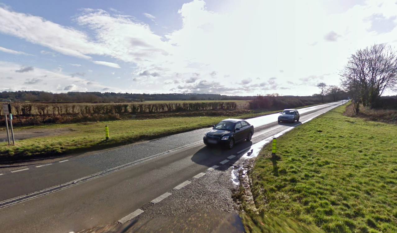 Man taken to hospital after crash on the A338 at Fordingbridge