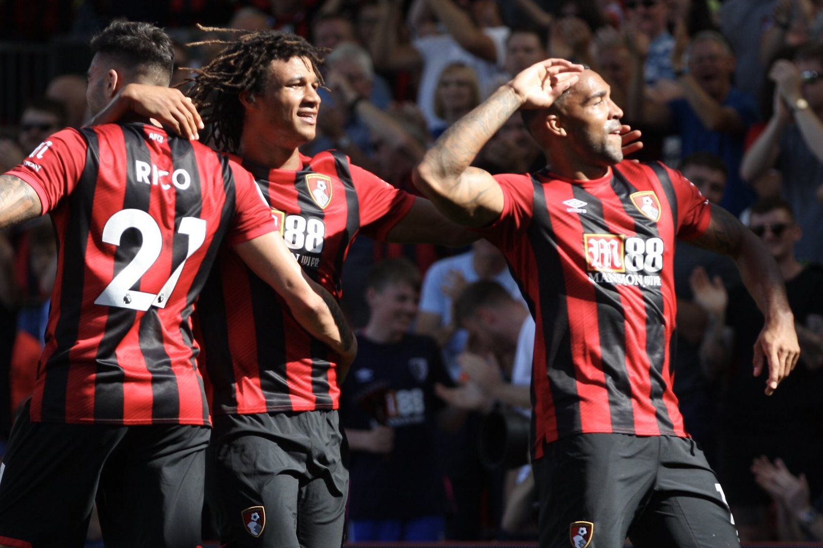 Callum Wilson at the double as AFC Bournemouth ease past Everton