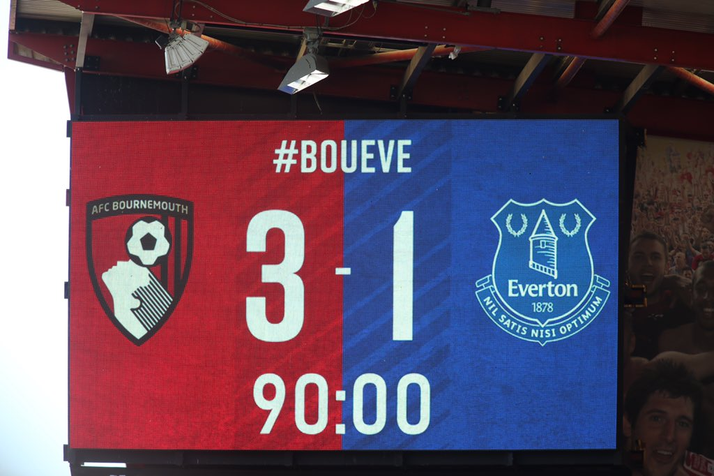 Who was your AFC Bournemouth man-of-the-match against Everton?
