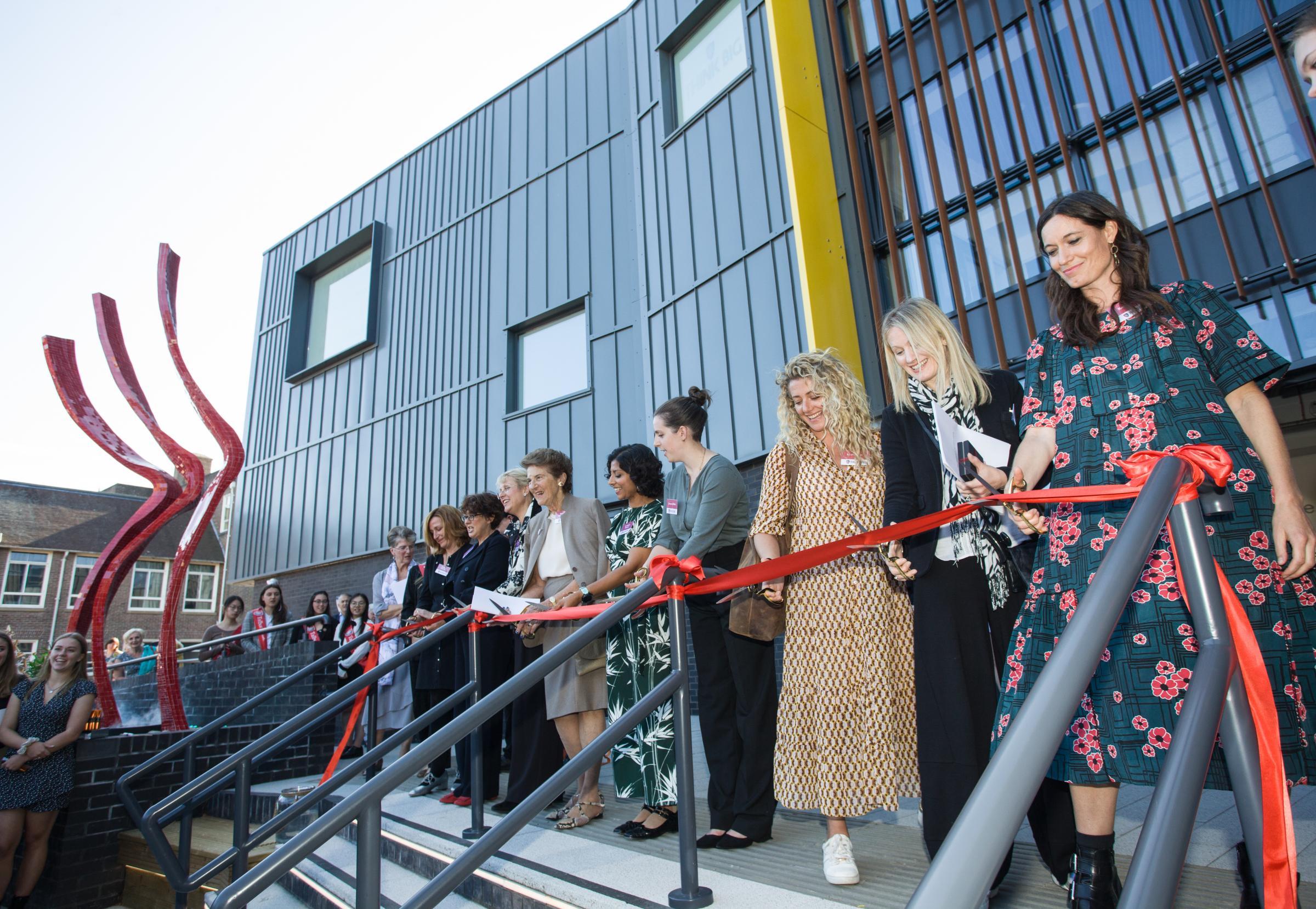 Talbot Heath School unveils new STEAM building