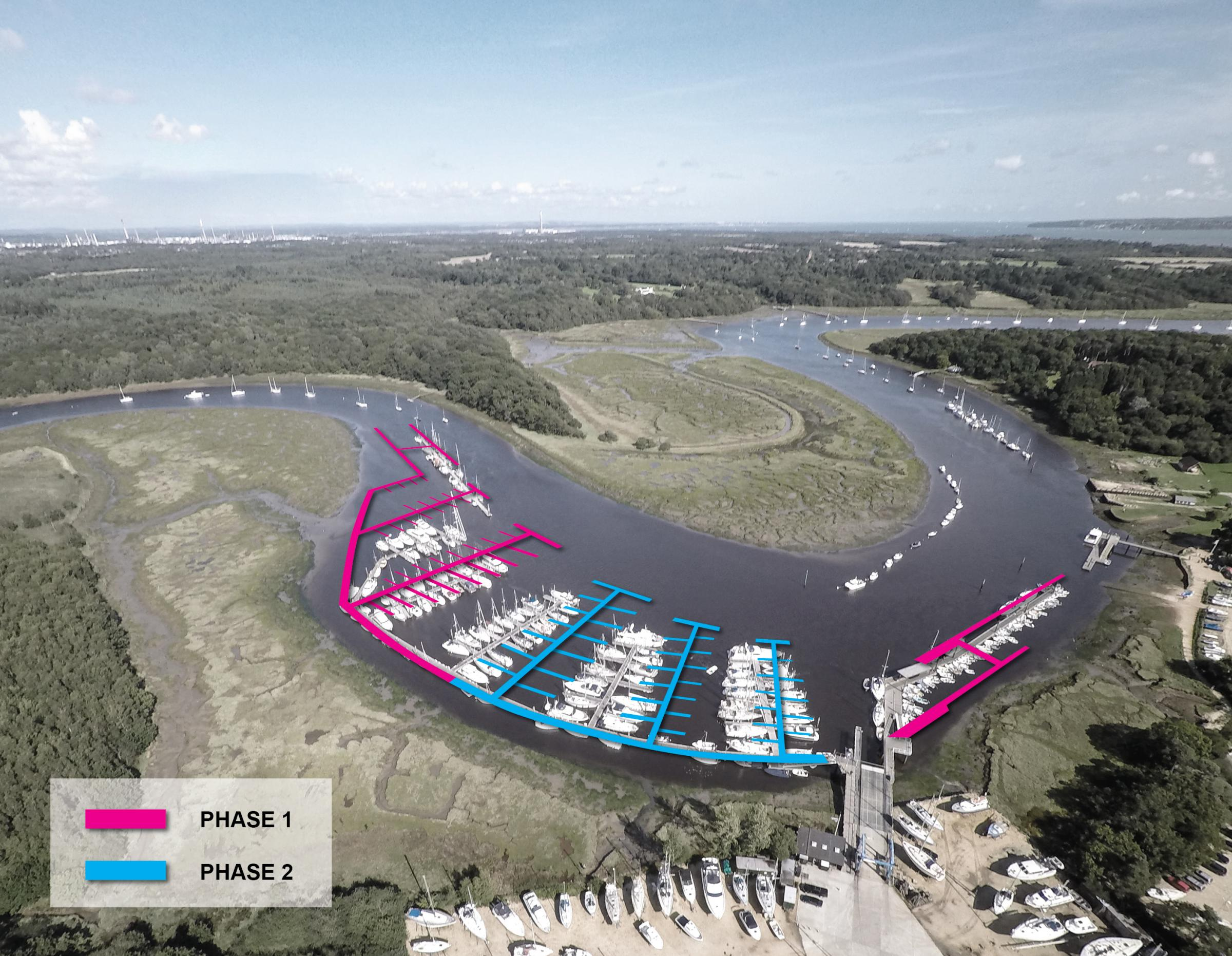 £2m works to start on extending marina on private river