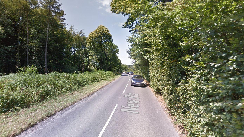 Motorcyclist dies following crash with motor caravan near Corfe Castle