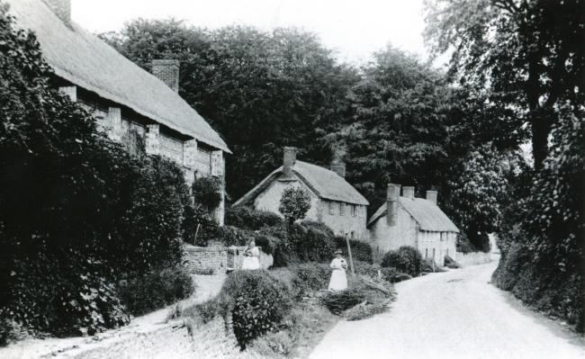 Cerne Abbas in 1919