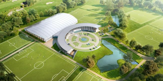 Plans have been approved for Cherries' new training complex (Picture: AFC Bournemouth/AFL Architects)
