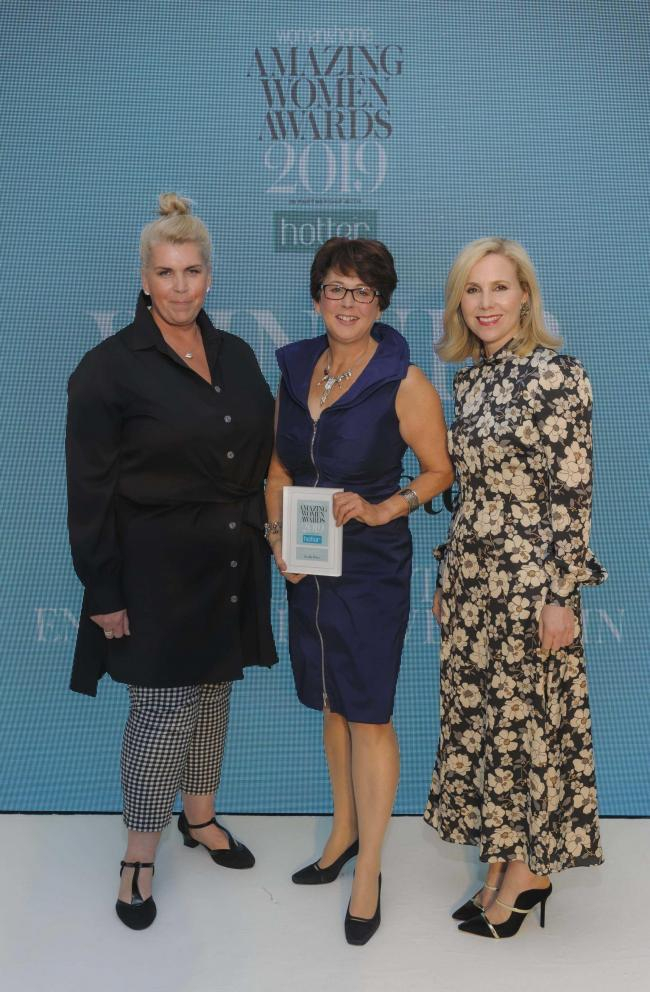 Dr Jan Peters, from Mudeford, was recognised in woman&home magazine's Amazing Women Awards for her work getting children interested in science
