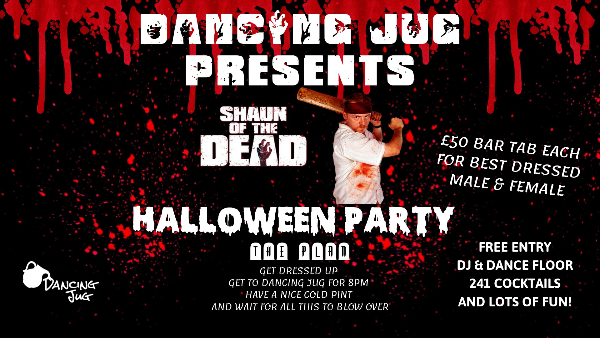 Shaun of the Dead Halloween Party