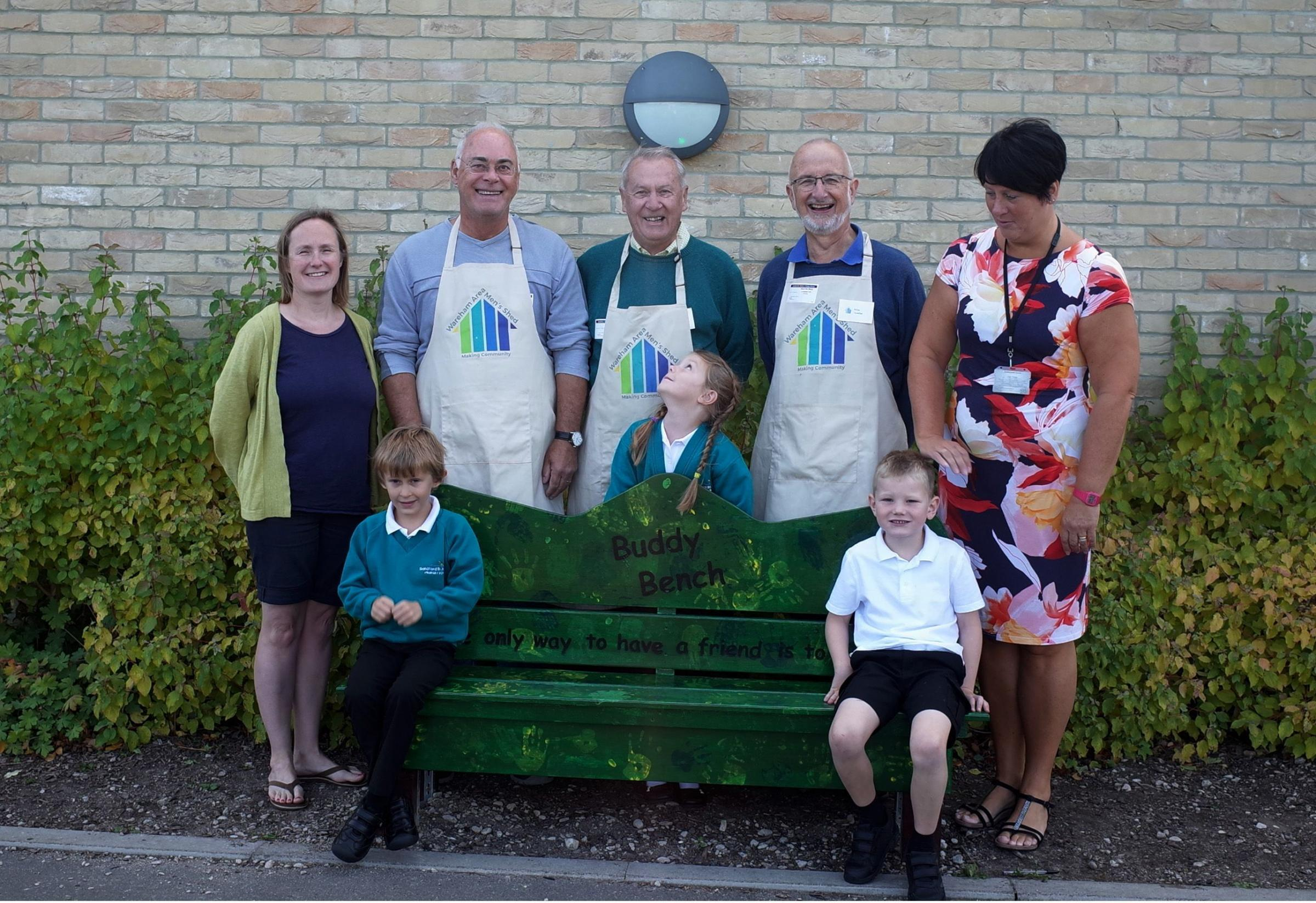 Buddy Bench installed at primary school