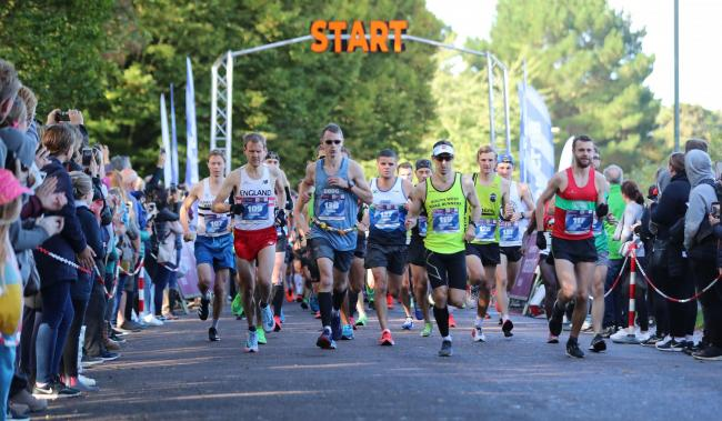 Sunday's marathon begins at King's Park on the second day of the Bournemouth Marathon Festival