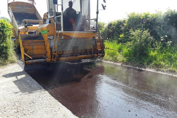 Rural surface dressing Picture: DORSET COUNCIL