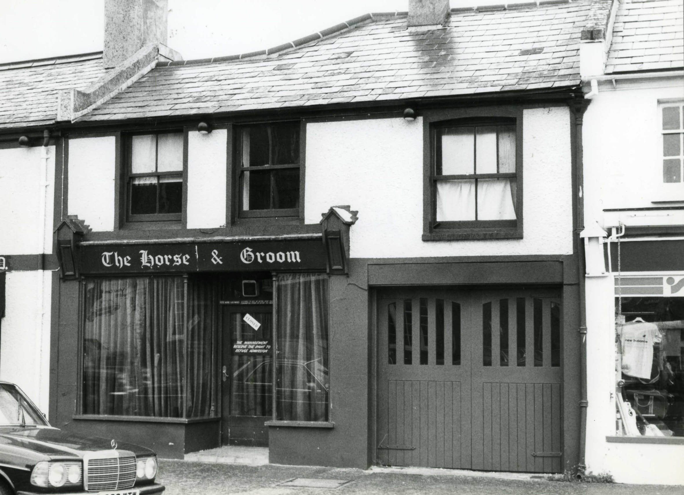 Do you remember the Horse and Groom wine bar in Christchurch?