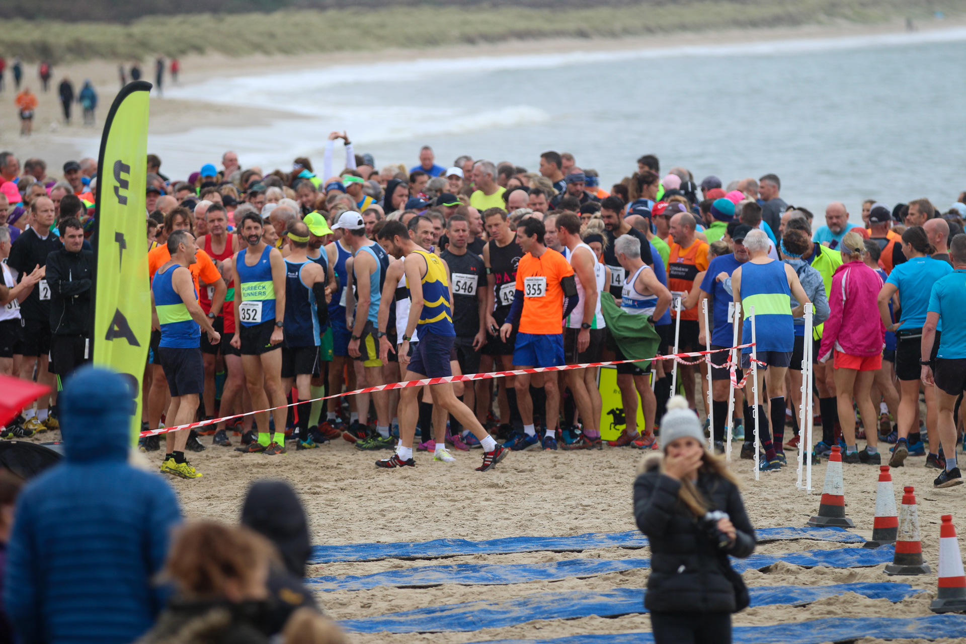 Pictures: Hundreds take part in the rough, tough and very sandy Studland Stampede