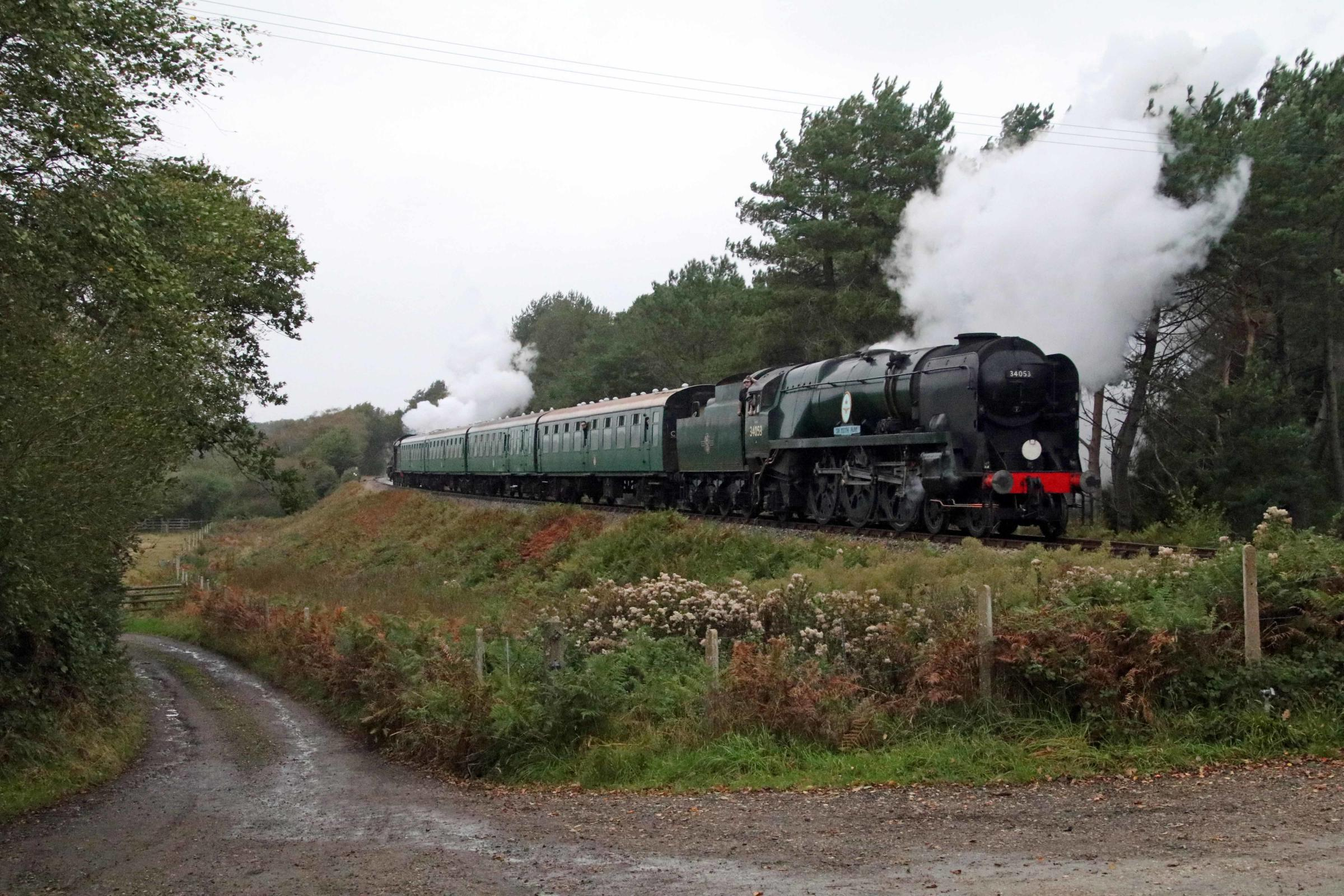 Pictures: History made at chuffing brilliant autumn steam gala