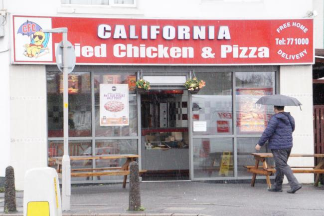 California Fried Chicken Given Zero Food Hygiene Rating