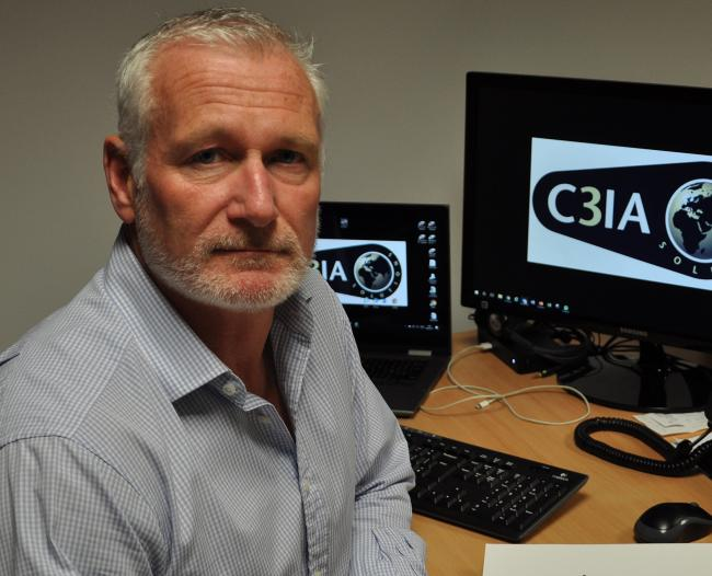 Matt Horan, security director of cyber-security business C3IA Solutions