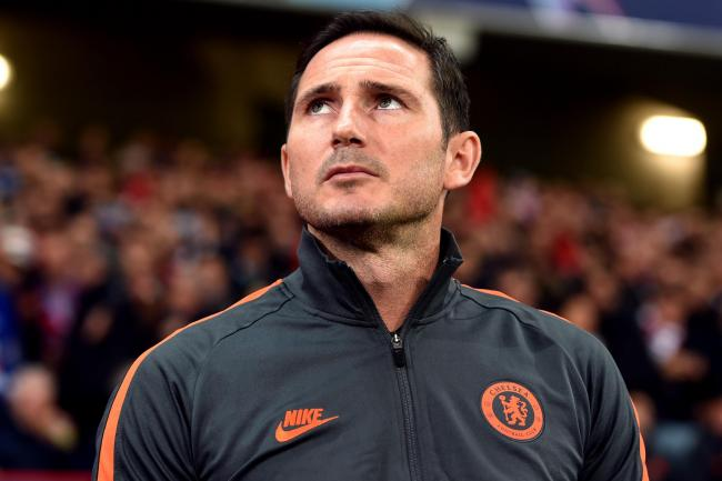 Frank Lampard was impressed with how England's players and staff conducted themselves in Sofia