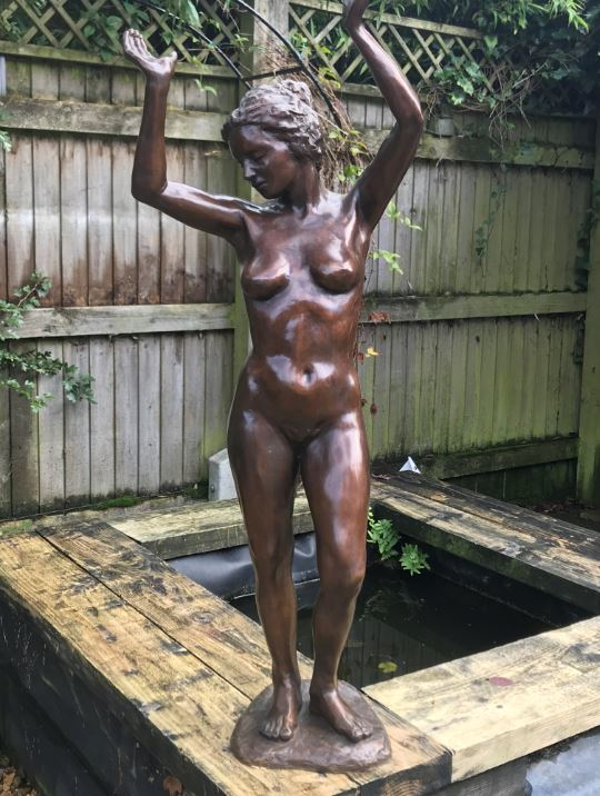 """Two """"very distinctive"""" bronze statues stolen from home in the New Forest"""