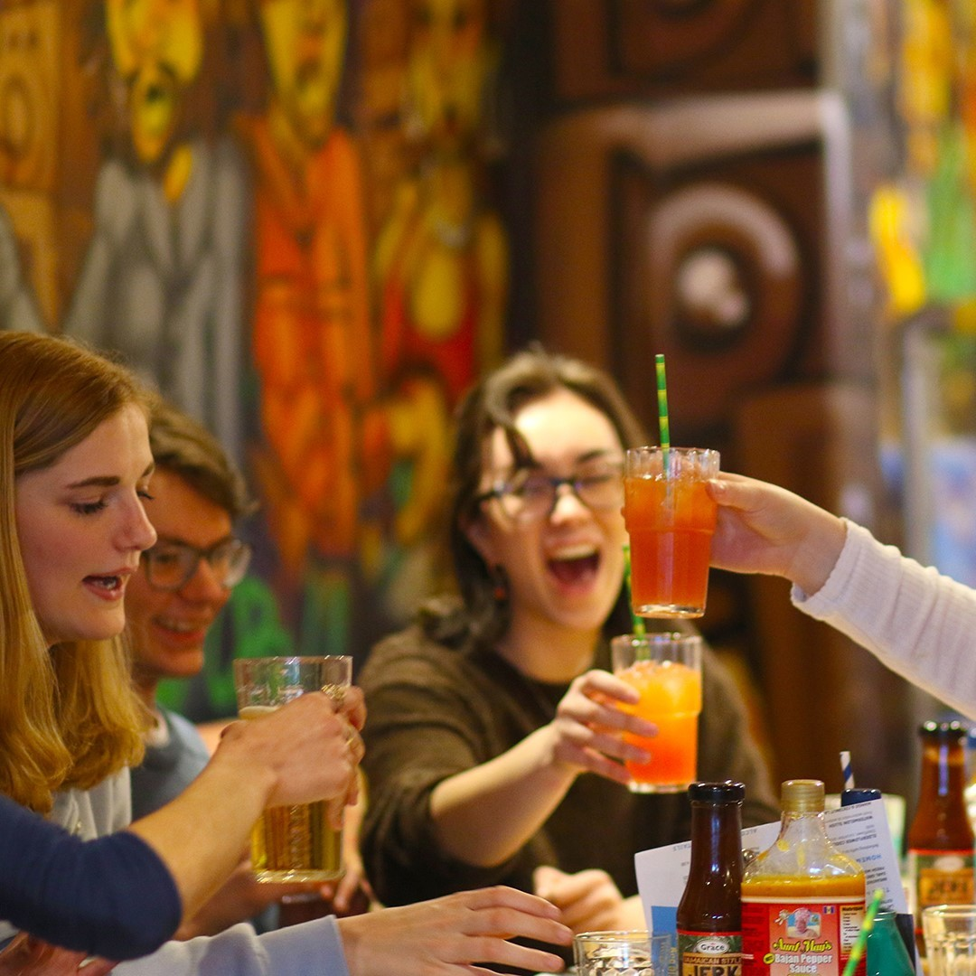 Cheers! Free cocktails for graduates at Turtle Bay