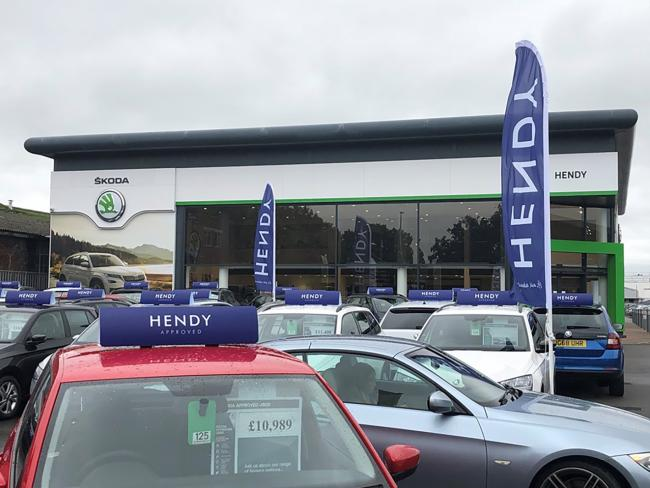 The Hendy Skoda site is among the former Westover dealerships that have been rebranded