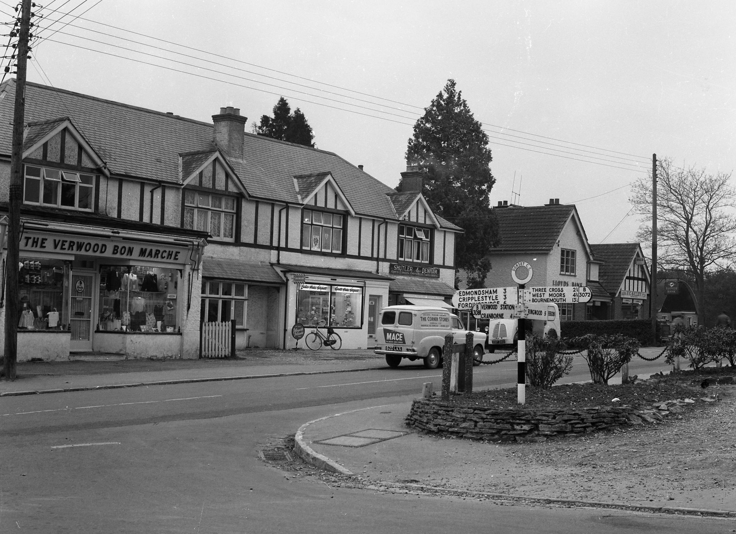 Picture of the Day: Looking back at the shops in Verwood