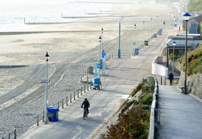 'Sand blowing onto the promenade is dangerous'