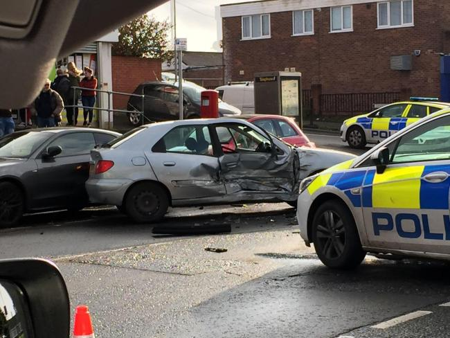 A crash 'involving a stolen vehicle' happened in Somerford Road. Image by Steven Hogan
