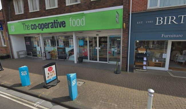 The Co-op in Highcliffe. Image: Google
