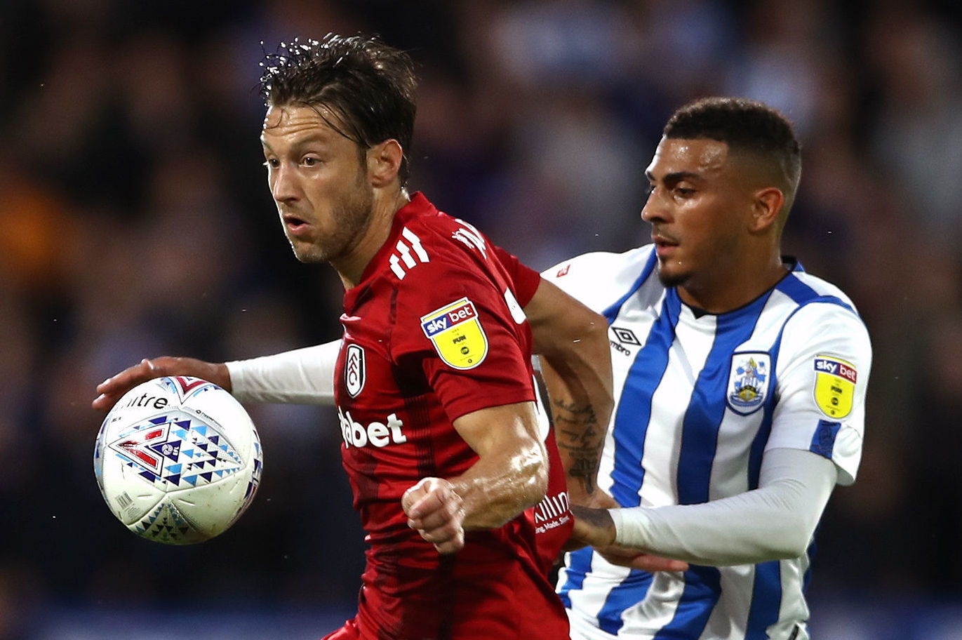 AFC Bournemouth reportedly set to battle Wolves for Huddersfield striker Karlan Grant