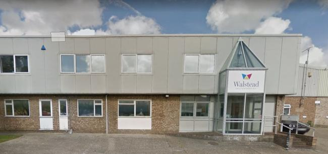Walstead Southernprint in Factory Road, Upton. Photo: Google Street View