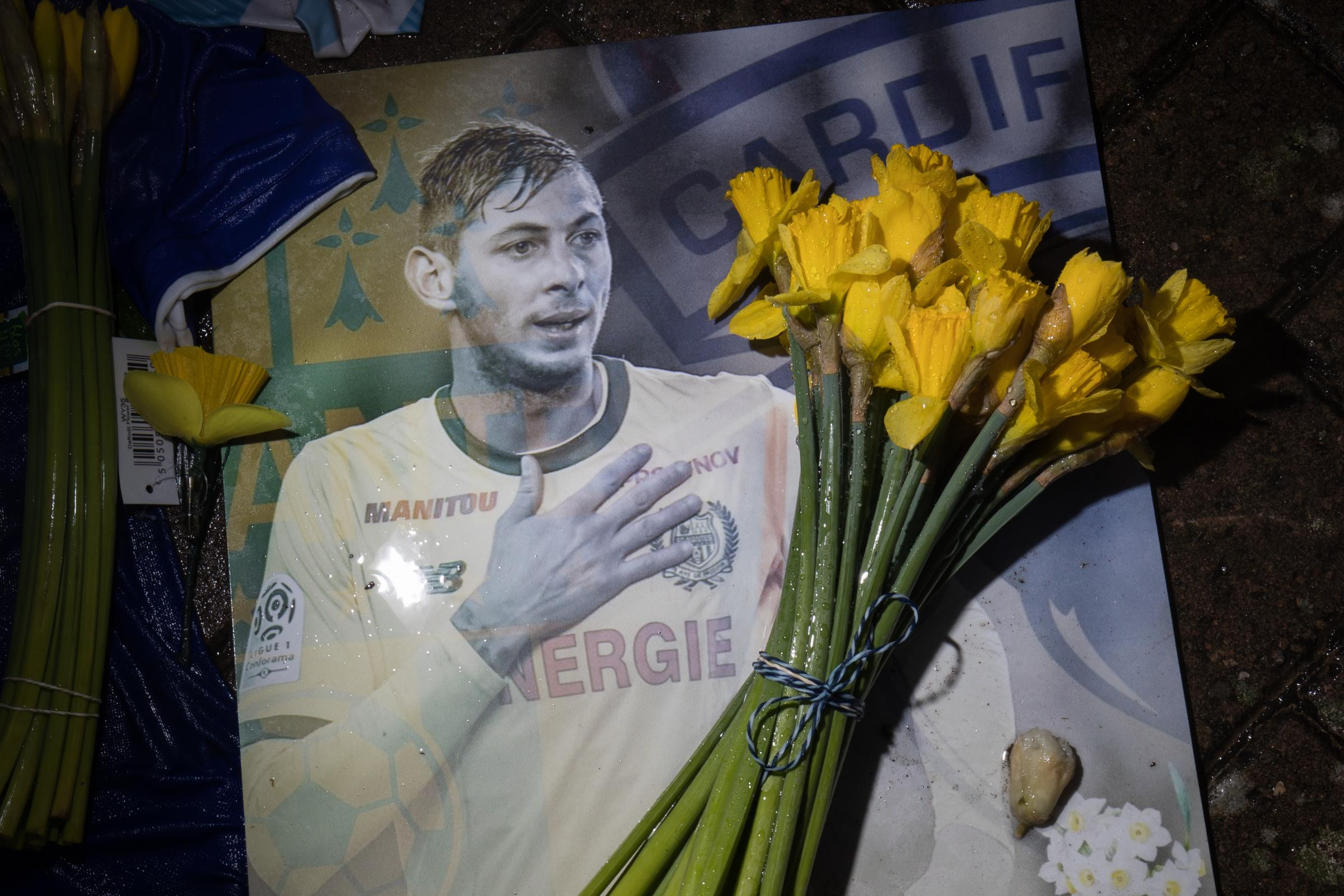 Wrecked plane which carried footballer Emiliano Sala has washed away, inquest is told