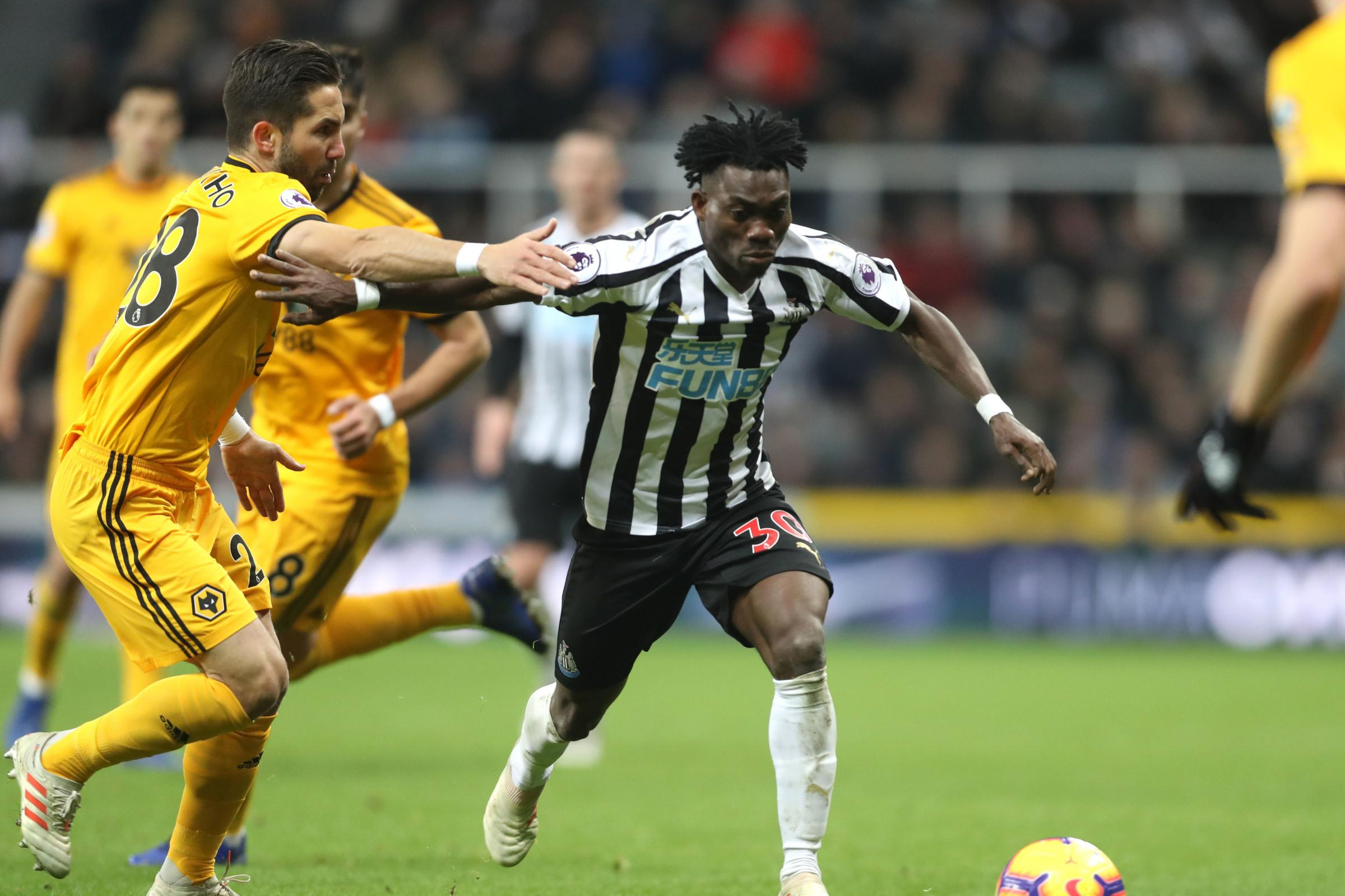 'He didn't play a lot but you could see he had ability' – Smith has respect for former team-mate Christian Atsu