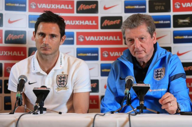 Roy Hodgson and Frank Lampard worked together in the England set up