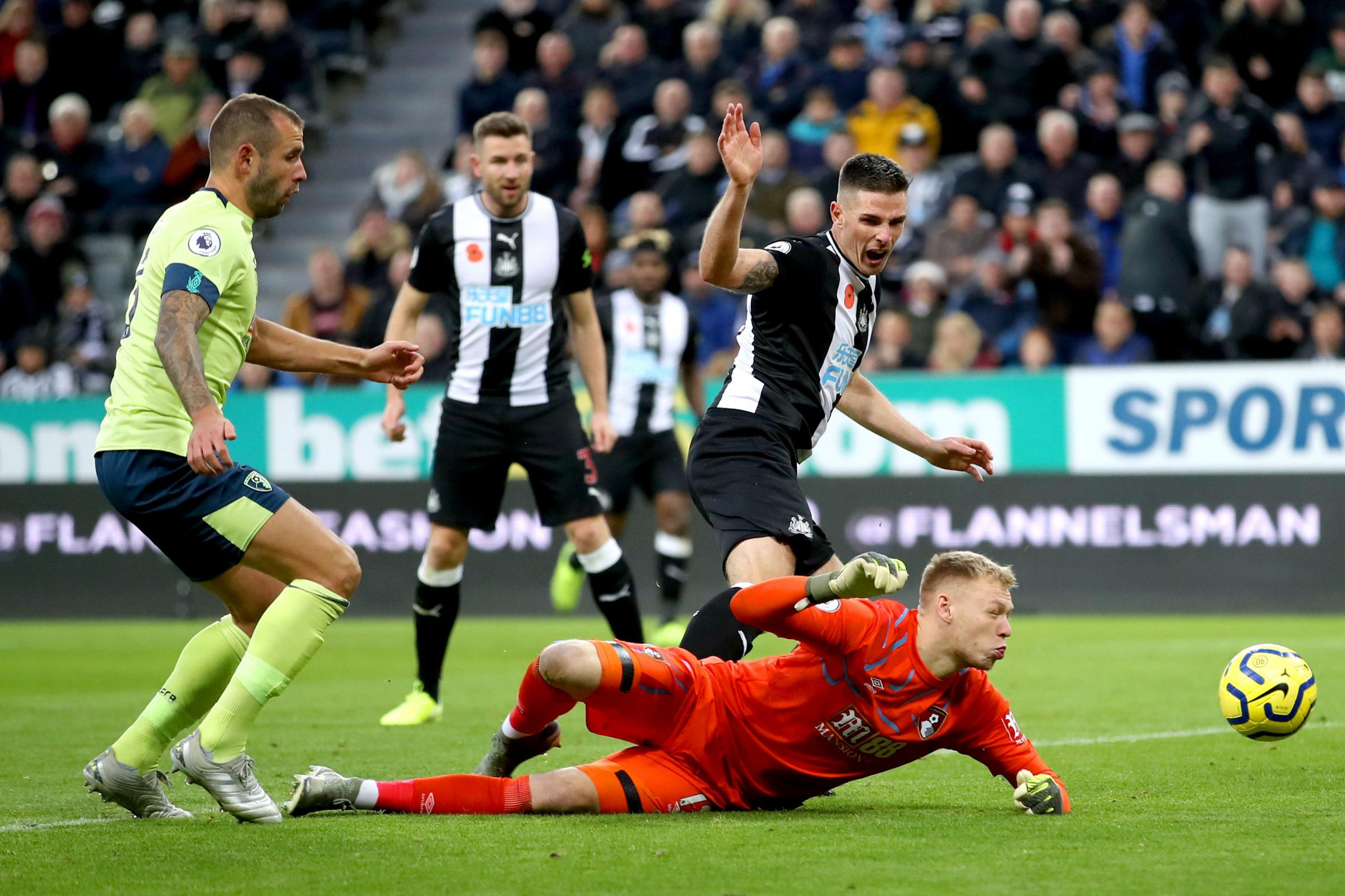 AFC Bournemouth squander early lead to lose at Newcastle