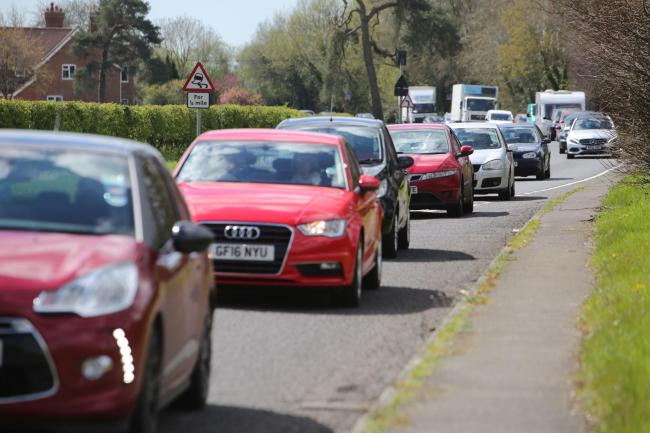 The incident happened on the A338 at Fordingbridge