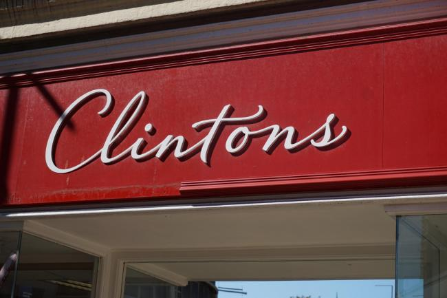 Clintons cards on Old Christchurch Road in Bournemouth closed in September