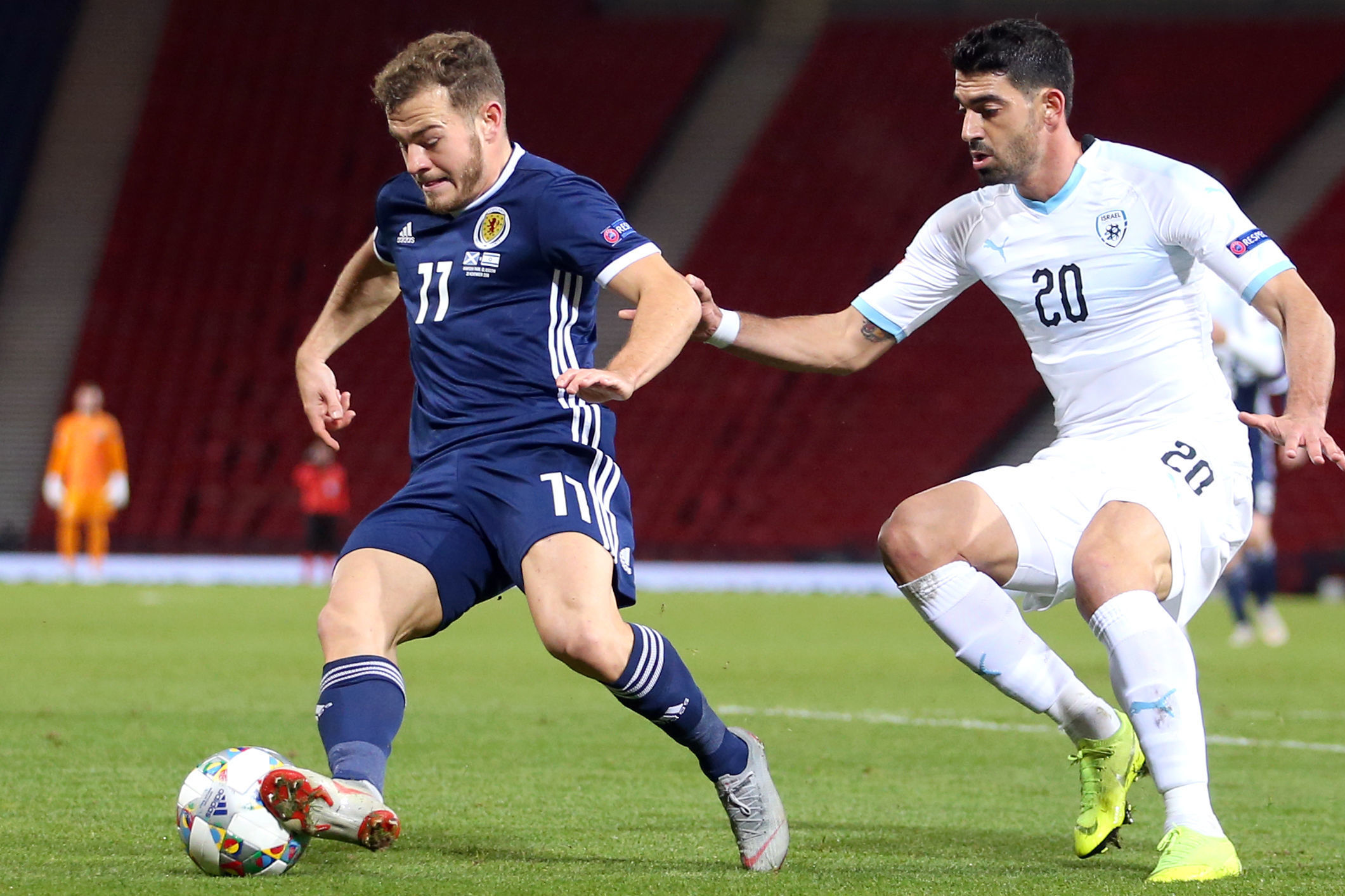 AFC Bournemouth winger Ryan Fraser out of Scotland squad due to knee injury