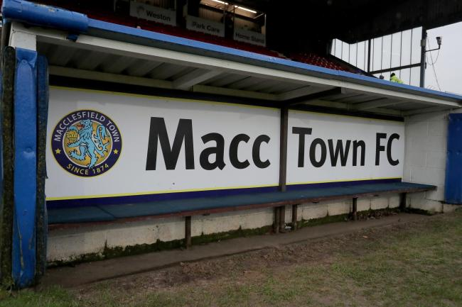 Macclesfield Town v Crawley Town – Sky Bet League Two – Moss Rose