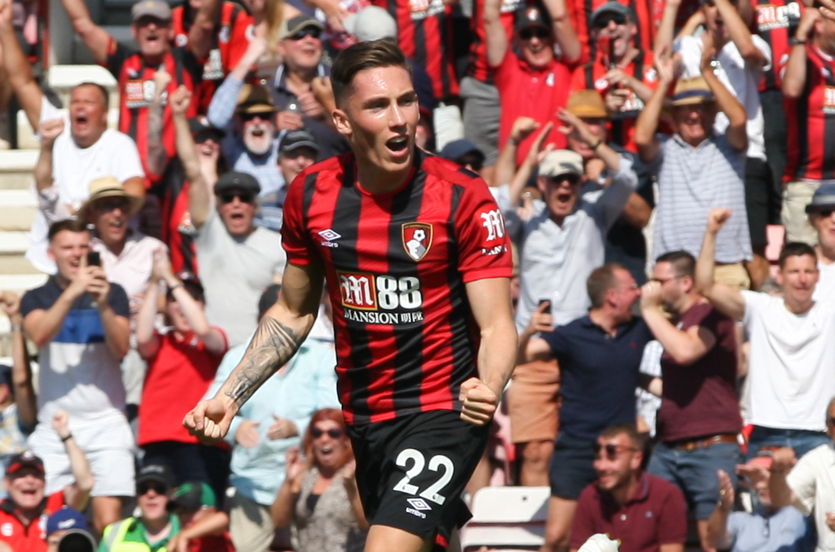 'He's not been fazed at all' - Eddie Howe hails Liverpool loanee Harry Wilson's adaptation to the Premier League with AFC Bournemouth