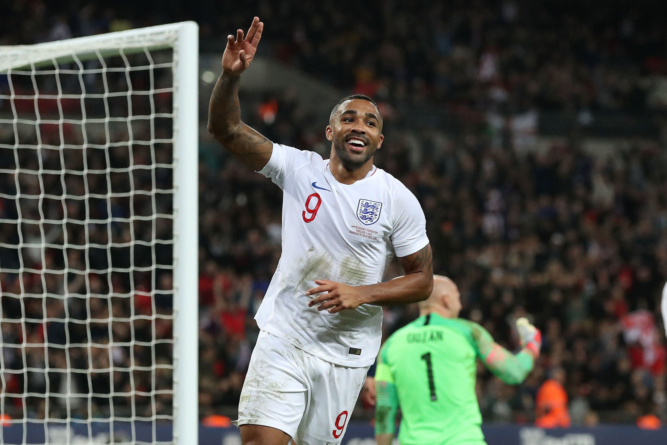 AFC Bournemouth's Callum Wilson says competition in the England squad gives him an 'extra boost'
