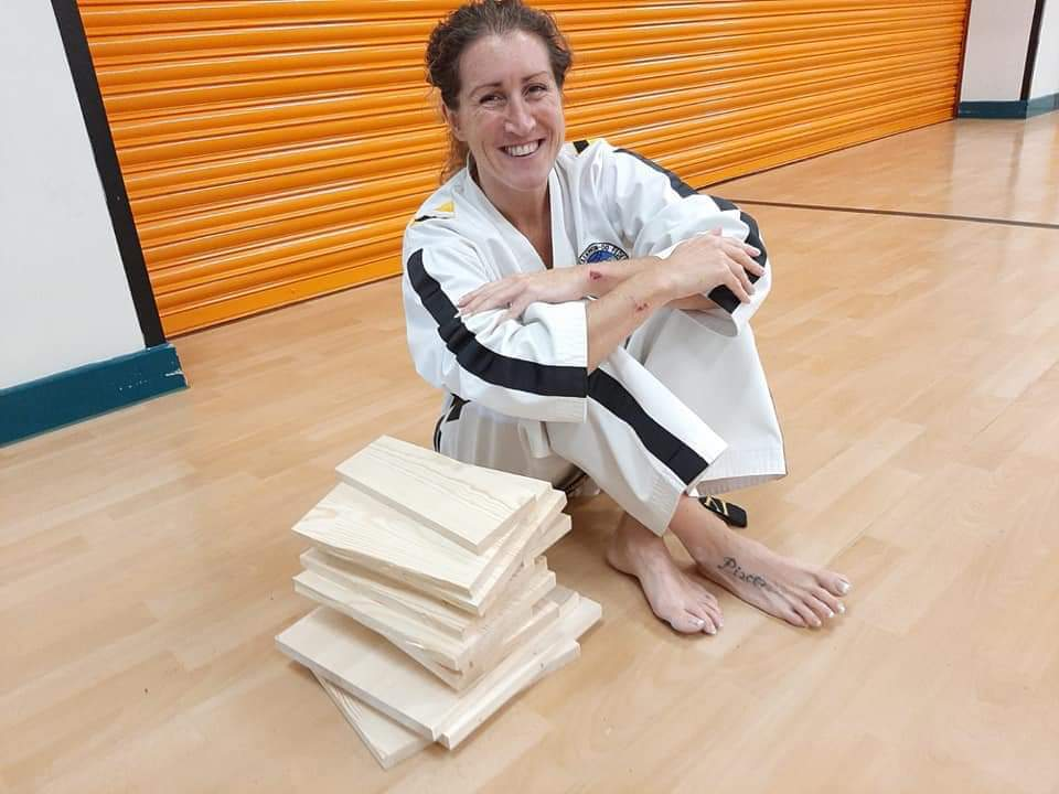 Blandford woman is the youngest taekwondo master instructor in Britain