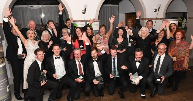 The winners of the 2018 Dorset Green Awards