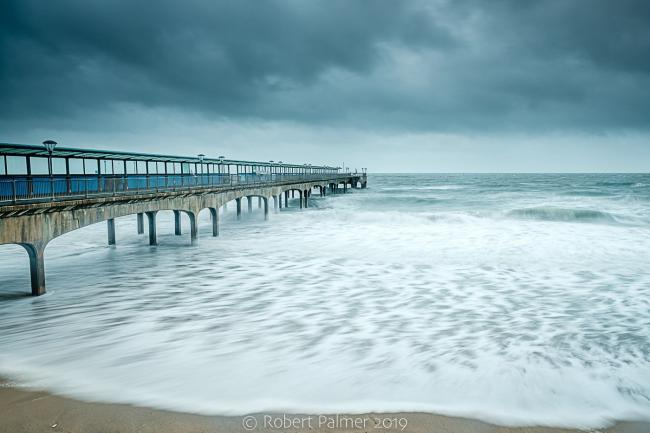 Boscombe Pier by Robert Palmer of Echo Camera Club Dorset