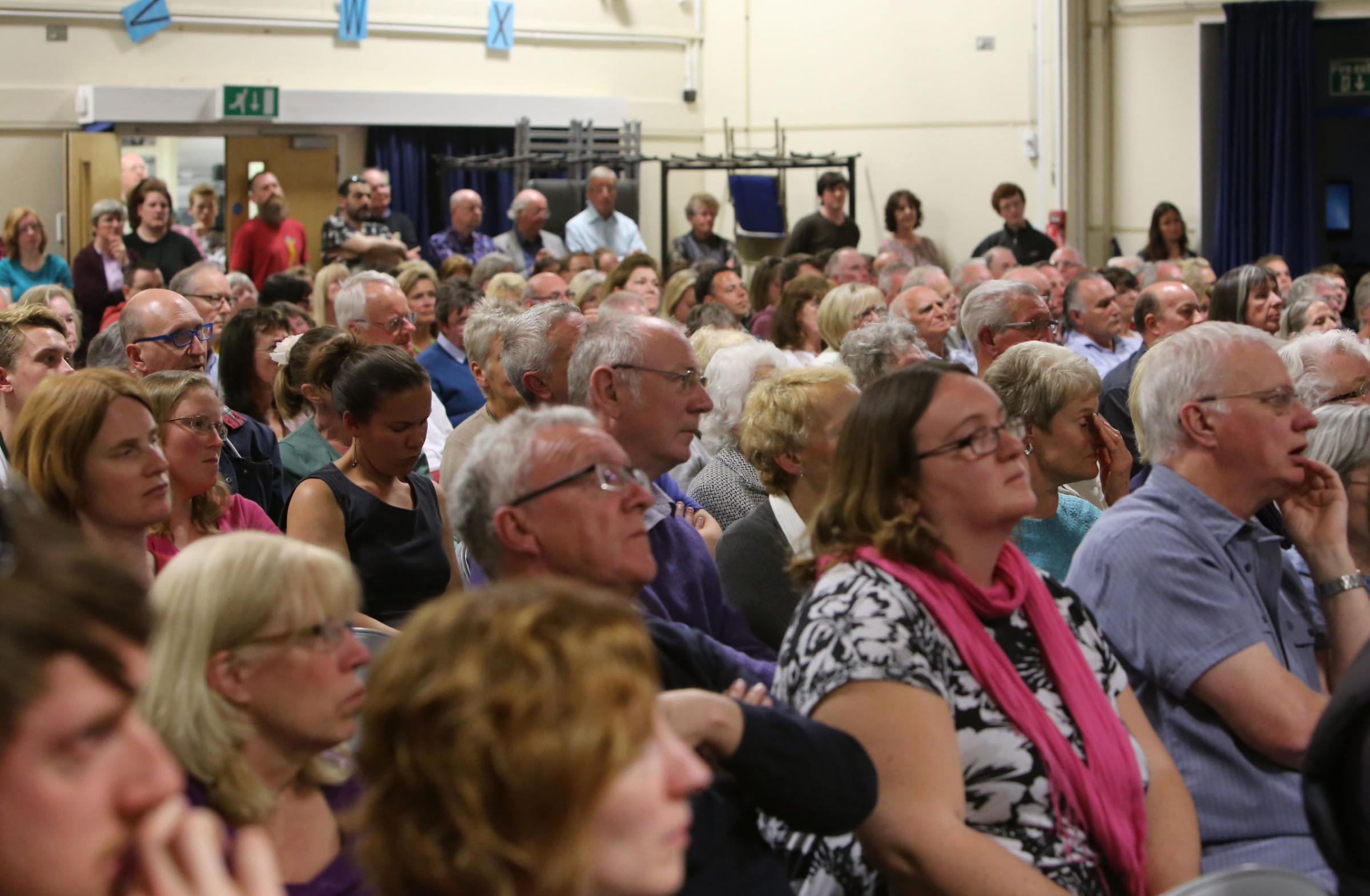 General Election hustings taking place in Dorset