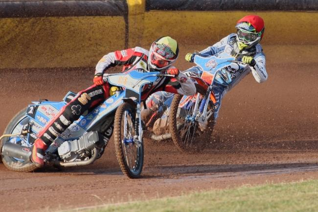 Pirates charger Steve Worrall, left (Picture: Richard Crease)