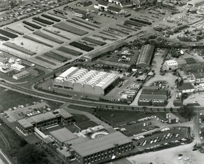 Picture of the Day: Nuffield Estate by air in 1978