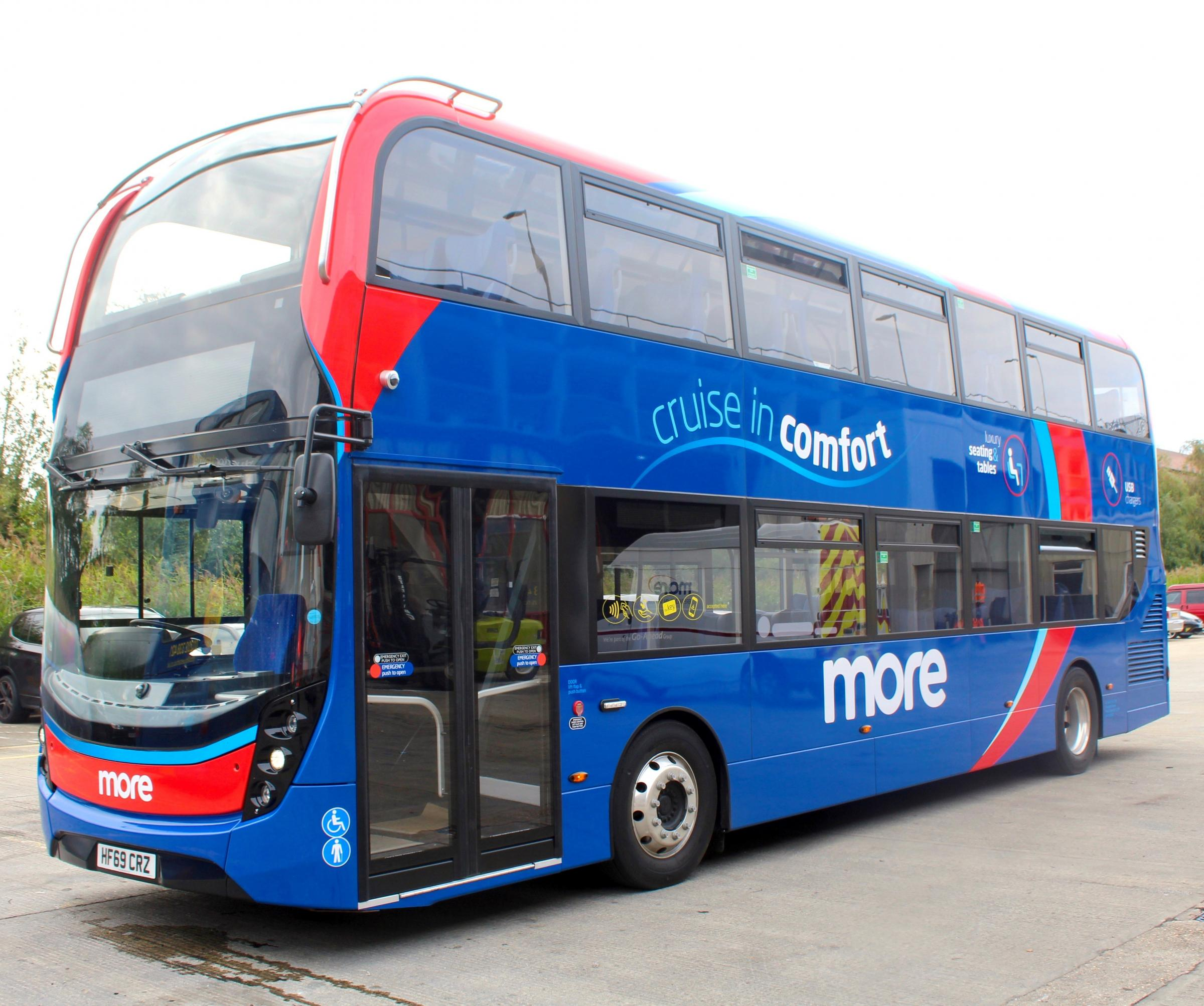 Morebus Christmas and new year timetable