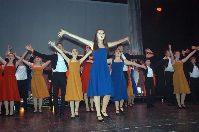 Non stop song and dance from the WOW show at the Pavilion Theatre, Weymouth this week Picture: Jim Tampin