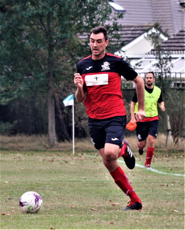 Tom Pepper scored four goals for Queens Park Athletic (Picture: BHFL)