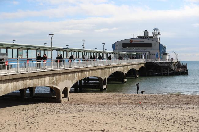 Bournemouth Pier will glow green for the rest of December for a special reason