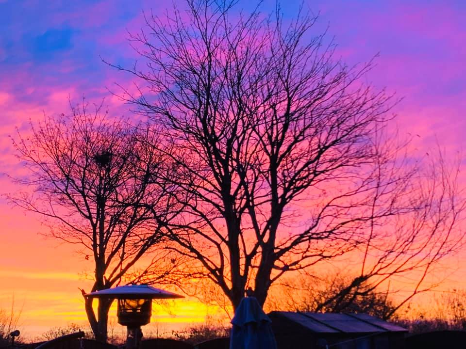 Why this morning's sunrise was so stunning
