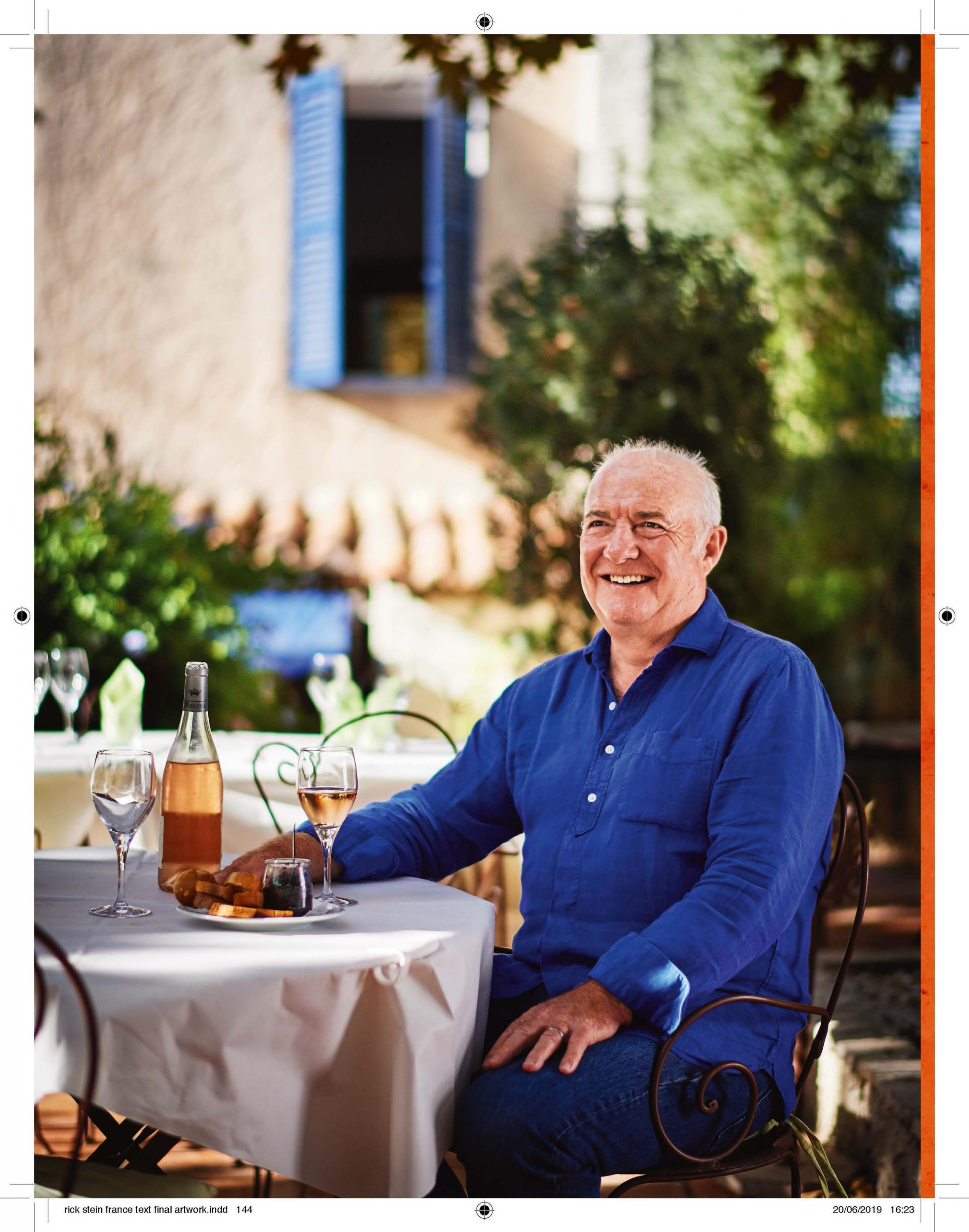 Rick Stein on his favourite tipples and his desert island drink